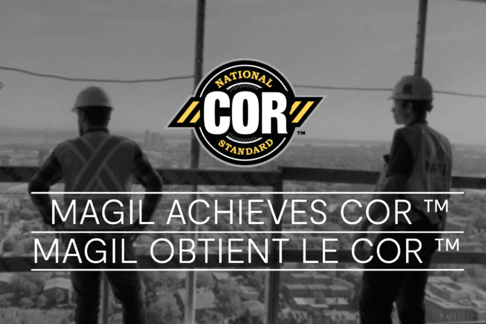 960x640 MAGIL ACHIEVES COR CERTIFICATION ONTARIO